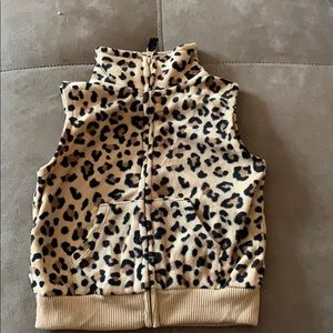 Carter's 12 month cheetah vest